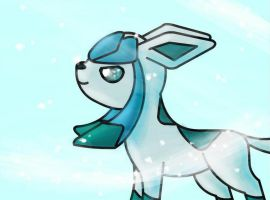 Glaceon by turtumy