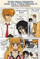 Bleached X Deathnote by starr-dream