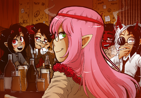 Pub of happiness by Keed-Kat