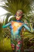 Sunny Body Painting for Art Fashion Studio. by NatashaKudashkina