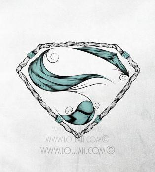 Super Feather Turquoise by LouJah