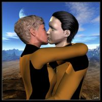Tasha and Data Forever by celticarchie