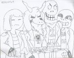Colorless: Undertale is Undercode by CAPTAIN-CHETO