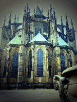St Vitus' Cathedral by Mavali