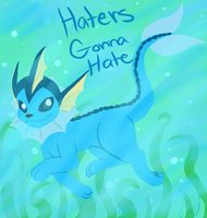 .::Vaporeon::. by CitrusVision