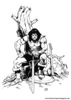 Conan the barbarian 01 by MimiCortazar