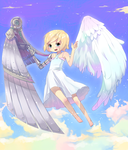 Comm: The metal Angel by Leaglem