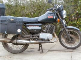 My Dear Old MZ ETZ 250 by moonhare77