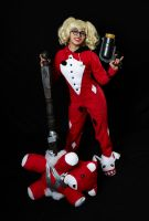 Pajama Party Harley Quinn by Enasni-V