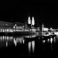 Cityscape With 3 Boats by AlexandruCrisan