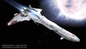 Space Fighter by TuranicRaider