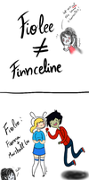 Fiolee is not the same that Finnceline by Thegirlins