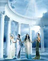 The Muses by TellMeTheBlues