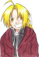 Edward Elric by KnightRose3