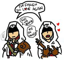 SPOILERS: Altair is Romantic by Stutterlite
