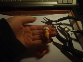 Davesprite clay charm! by deliriousPoet