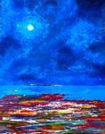 Brightshore-and-the-moon Cropped by versonova