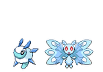 Fakemon Mitetens and Mothedral Sprites by Phatmon
