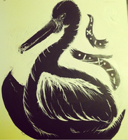 Pelican Clayboard by hisironicprincess