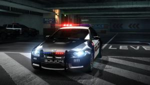 BMW M3 police. NFS by daz1200