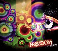 freedom _-''' Liberty by douf