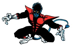 'X-Men's Nightcrawler' by TADASHI-STATION