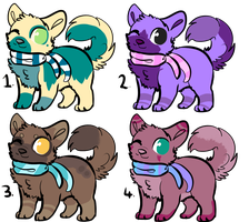Puppy Batch Adopts ||2 OPEN|| by AdoptingLove