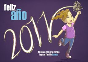 Happy new year :D by ElComics