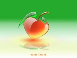 Heart Fruit by Brainmastergraphic