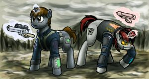 Wasteland Saviors by MisterMech