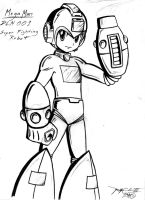 Cool lookin Megaman by kanefinger1939