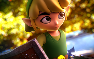 Toon Link's Adventure by Chromalious
