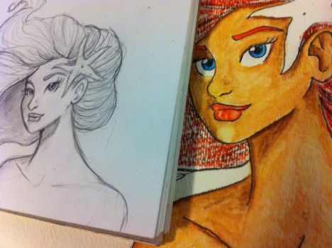 Sketch to Watercolors by Tears-And-Tragedies