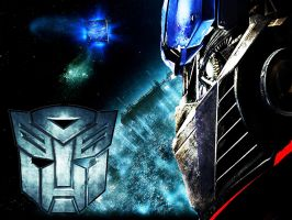 Optimus Prime Wallpaper by Skrillexia-TF