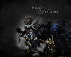 Beauty and the Beast - HoN by Razzik88