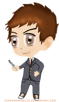 Chibi tenth doctor by ForeverNura123