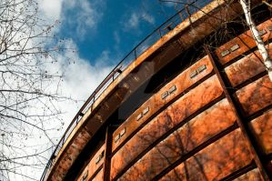 Old Corroded Silo by 4MindZapper
