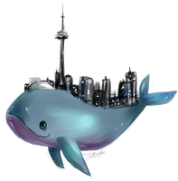Ontario the Whale by Sharkii1