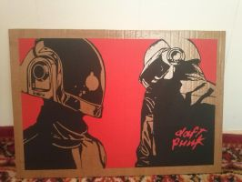Daft Punk by HooooD