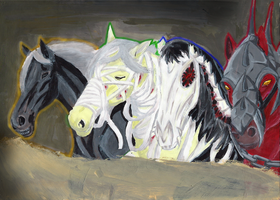 4 Horses of the Apocalypse F by kimikow1