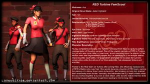 [SFM Biography] TF2 - CoP - RED Turbine FemScout by LoneWolfHBS