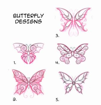 Butterfly designs by fabianfucci