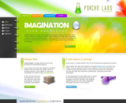 Psycho labs by Zhyphyr