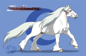 AT-Sesshomaru-pony by WSTopDeck