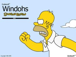 Windohs, Simpsons Edition by Joe-Leo