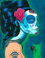 Sugar Skull Blue by Sexycreations
