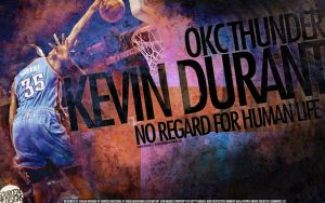 Kevin Durant Dunk Wallpaper by Angelmaker666