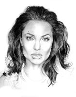 Angelina Jolie WIP by Monkey-Jack