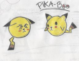 Pika-Boo by SinsBullet