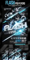 Flash PSD Party Flyer Template by ImperialFlyers